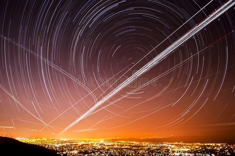 San- Josestern-Spuren lizenzfreie stockbilder