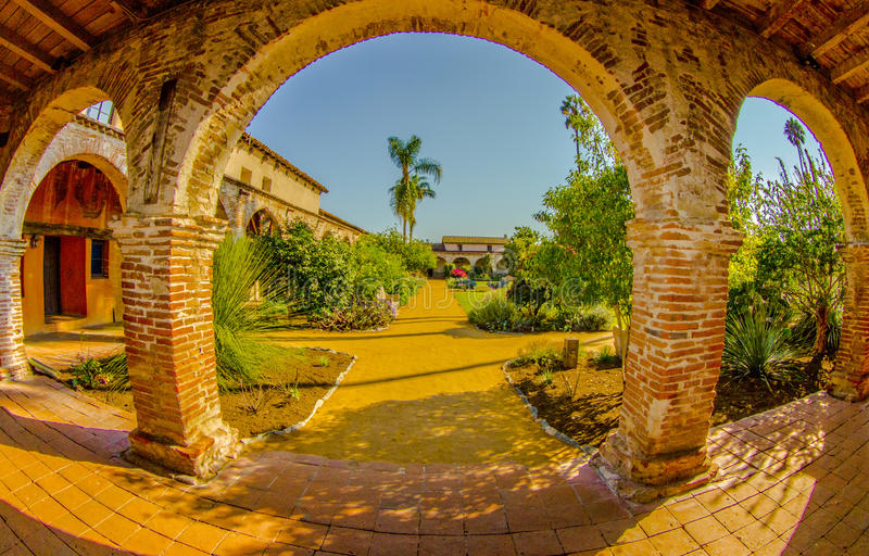 San Juan Capistrano, Καλιφόρνια στοκ εικόνες με δικαίωμα ελεύθερης χρήσης
