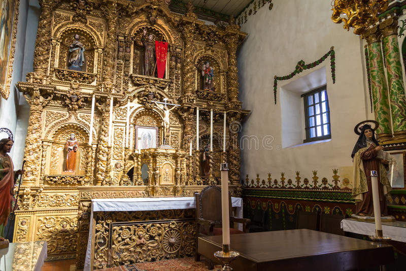 San Juan Capistrano Alter fotos de stock royalty free