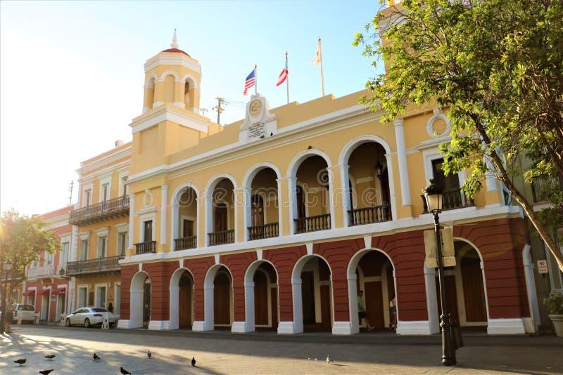 San Juan City Hall royalty free stock image