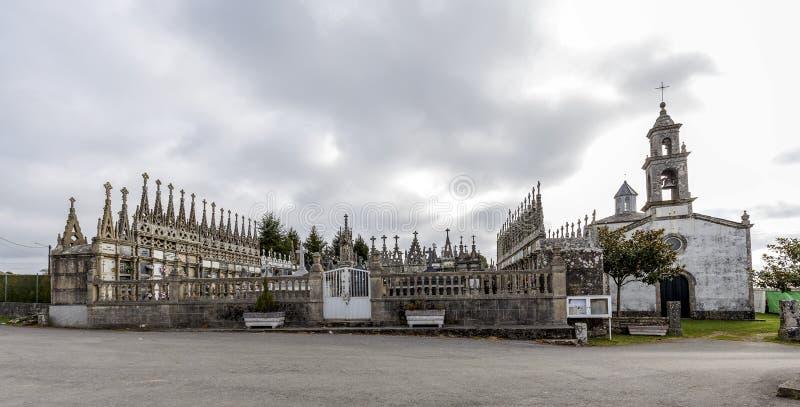 San Juan de Alba, Vilalba, Galicie Espagne images stock