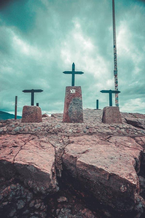 San Juan de Gaztelugatxe fotografia stock libera da diritti