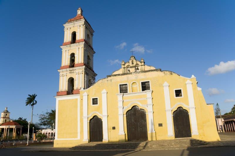 San Juan DE Los Remedios, Kerk, Cuba stock foto's