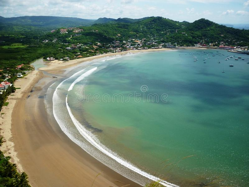 San Juan del Sur Beach stock fotografie