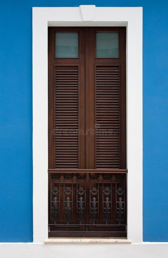 San Juan doorway royalty free stock image