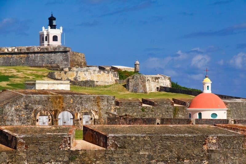 San Juan - El Morro royalty free stock images