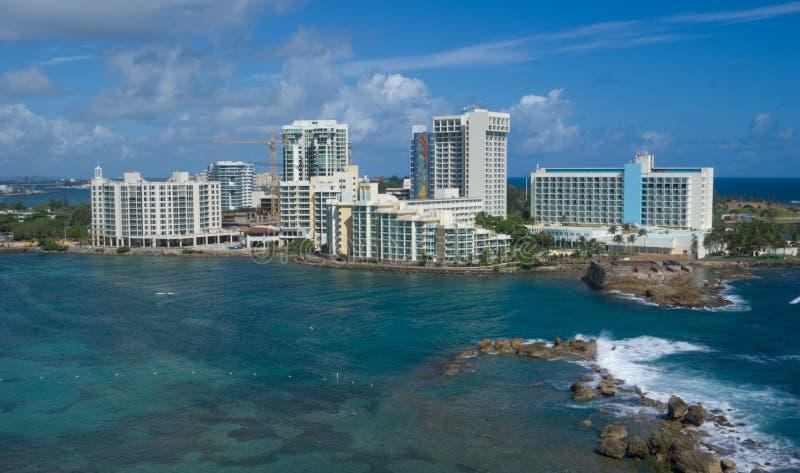 San Juan - il Porto Rico fotografia stock