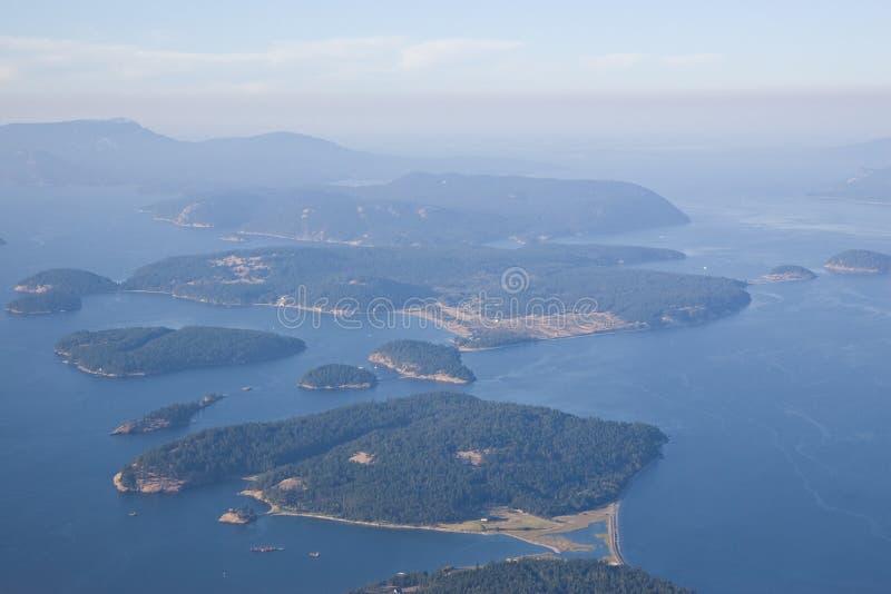 San Juan Islands Puget Sound stock afbeelding