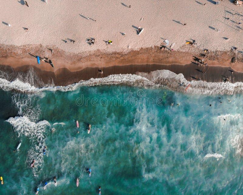 San Juan losu angeles zjednoczenie z góry - Filipiny zdjęcie royalty free