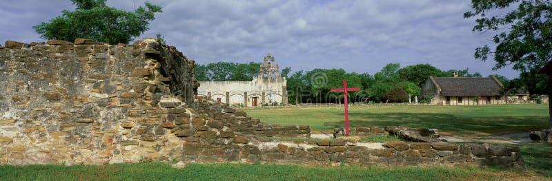 San Juan Mission National Park, San Antonio, TX photos stock