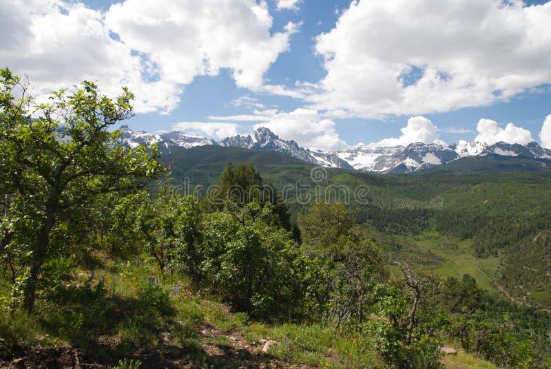 San Juan Mountains royalty free stock photo
