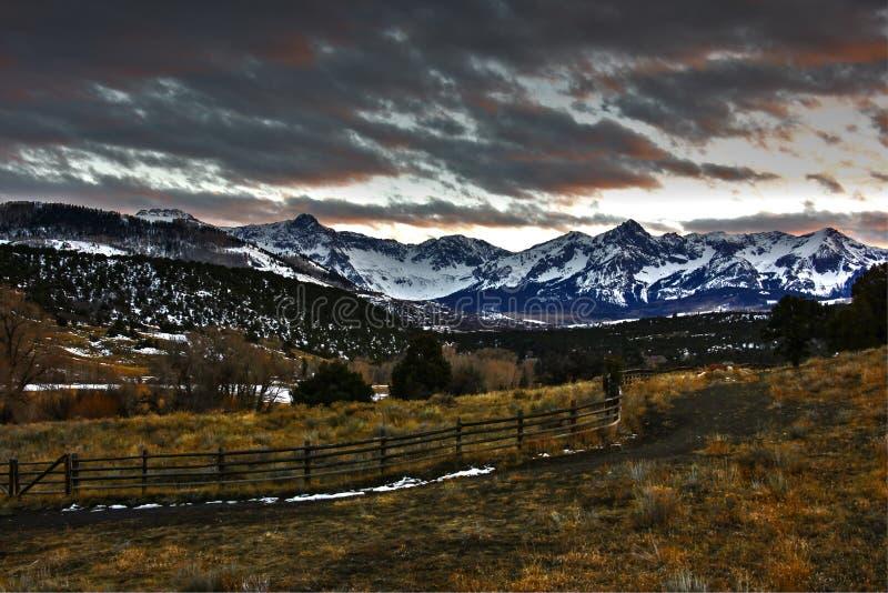 San Juan Mountains royalty-vrije stock foto's