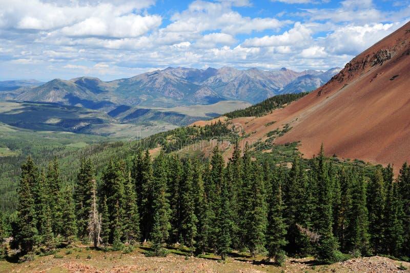 San Juan Mountains, le Colorado photos libres de droits
