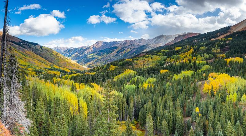 San Juan Mountains royalty free stock photography