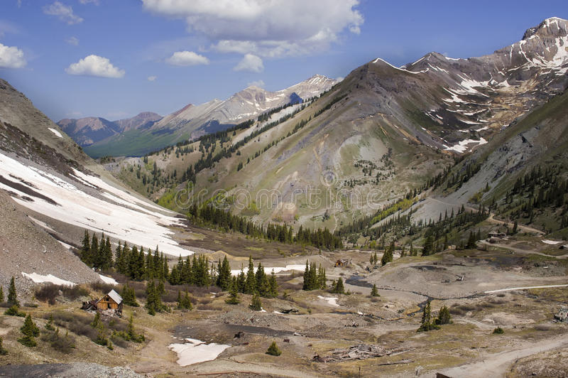San Juan Mountains, Telluride Colorado royalty free stock image