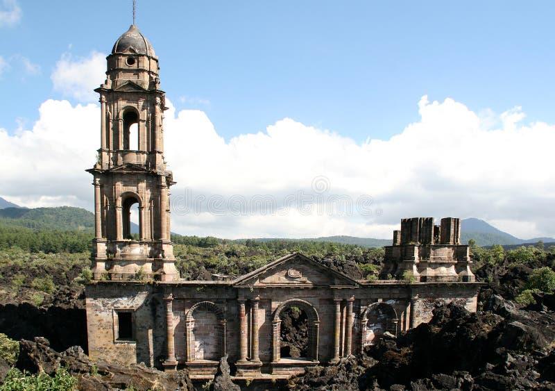 San Juan Parangaricutiro royalty-vrije stock afbeeldingen