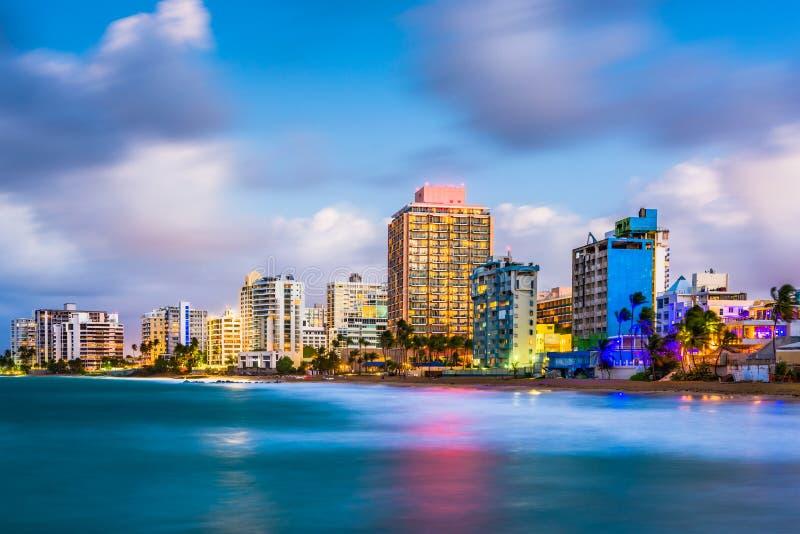 San Juan Porto Rico fotografia stock libera da diritti