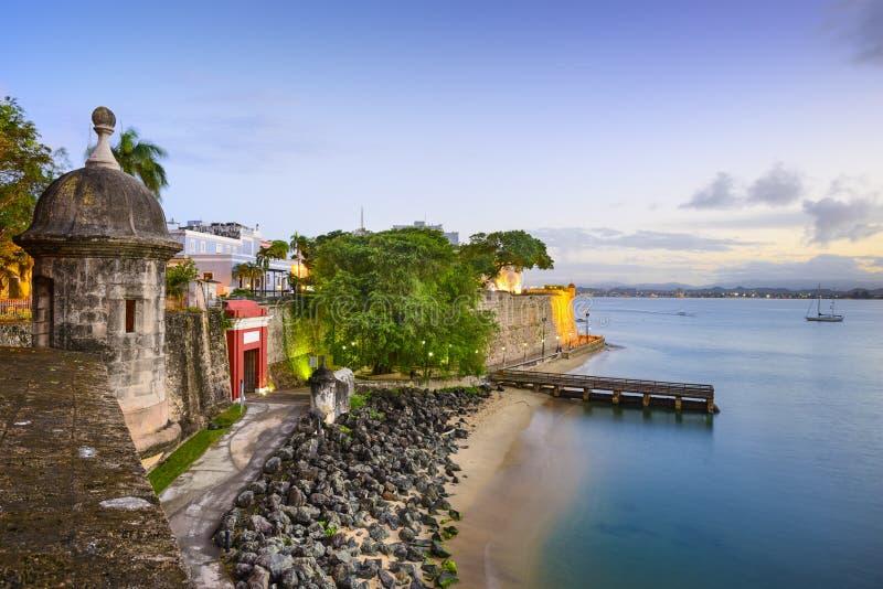 San Juan, Porto Rico fotografie stock libere da diritti