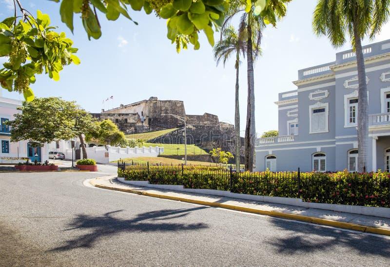 Download San Juan, Porto Rico fotografia stock. Immagine di juan - 56884114