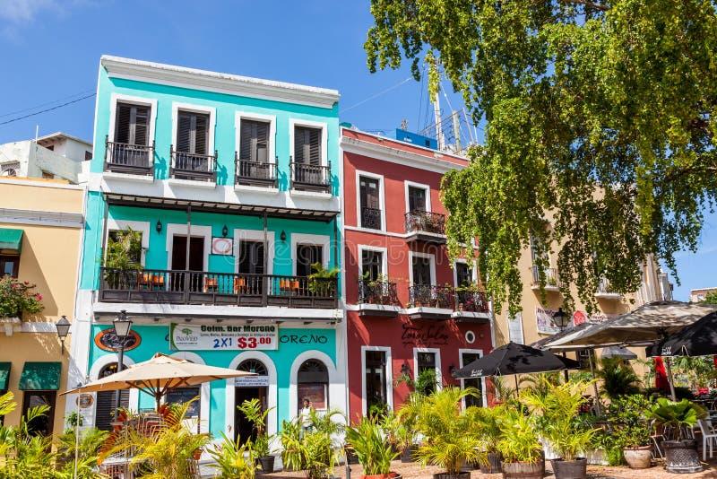San Juan Puerto Rico arkivfoto