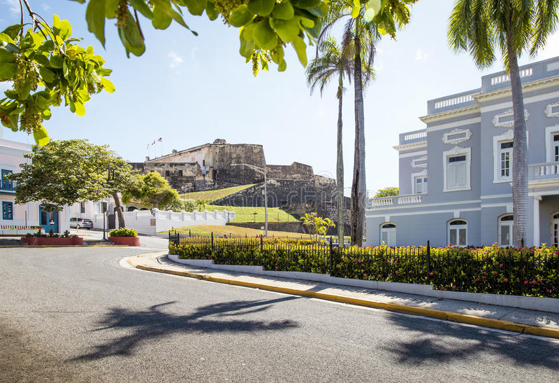 San Juan, Puerto Rico imagens de stock