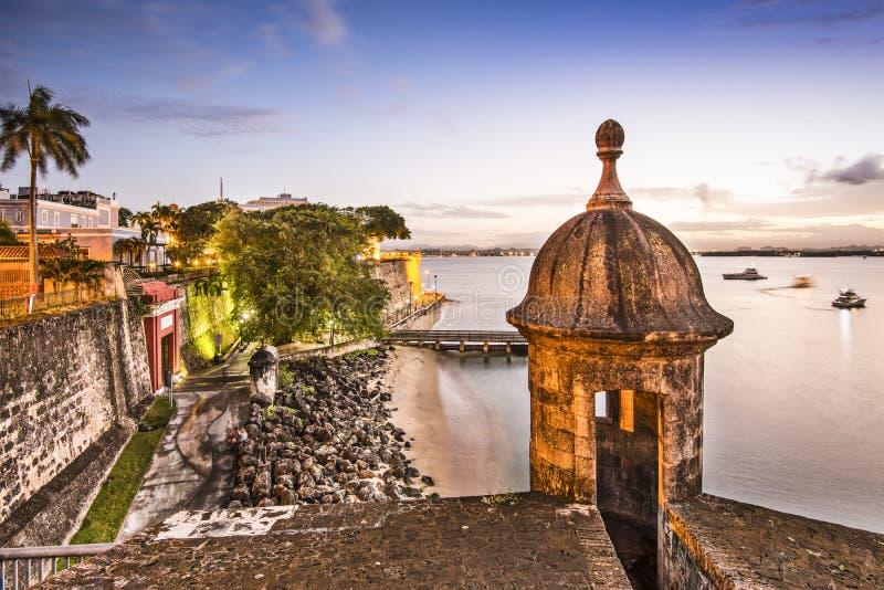 San Juan, Puerto Rico Coast fotografia stock libera da diritti