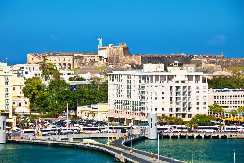 San Juan royalty free stock photography
