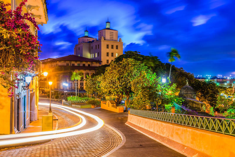 San Juan Puerto Rico stock photography