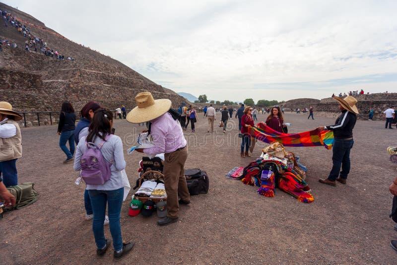 San Juan Teotihuacan, Mexique images libres de droits