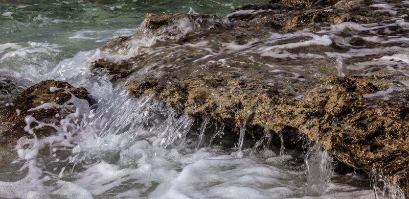 San Juan une plage en pierre photographie stock libre de droits