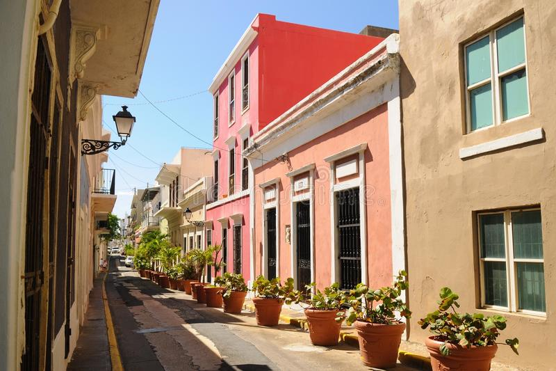 San Juan velho fotografia de stock