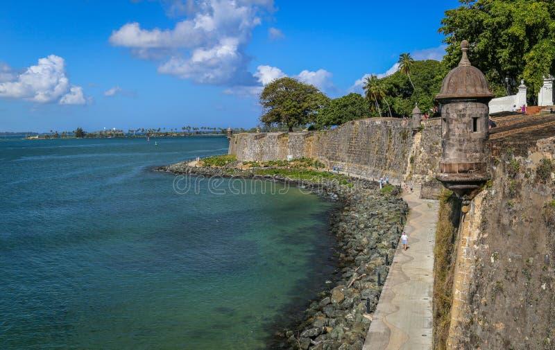 San Juan viejo, Puerto Rico foto de archivo libre de regalías