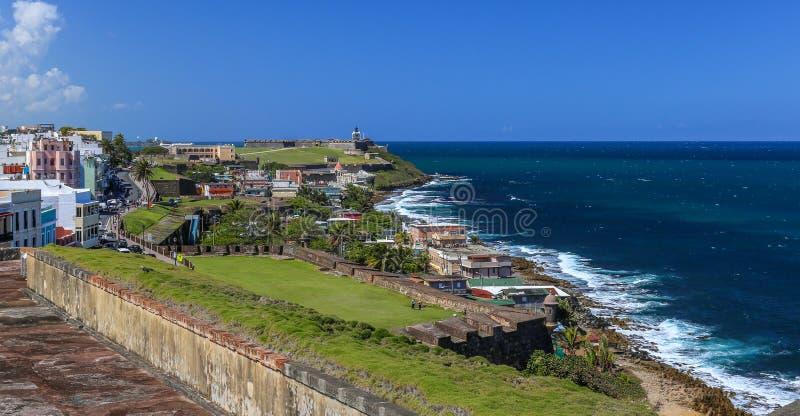 San Juan viejo, Puerto Rico imagen de archivo libre de regalías