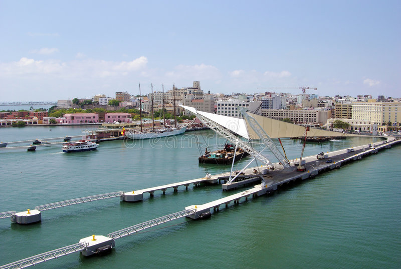 San- Juankanal stockbild
