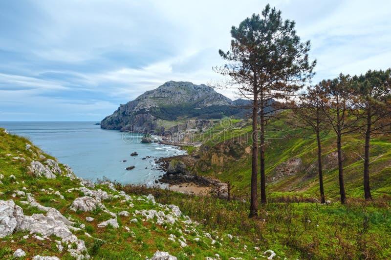 San Julian Beach, Spagna fotografia stock libera da diritti