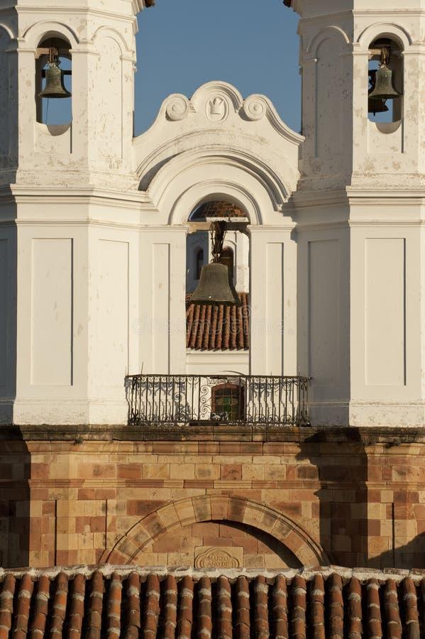 San kościół Felipe Neri, Boliwia obrazy royalty free
