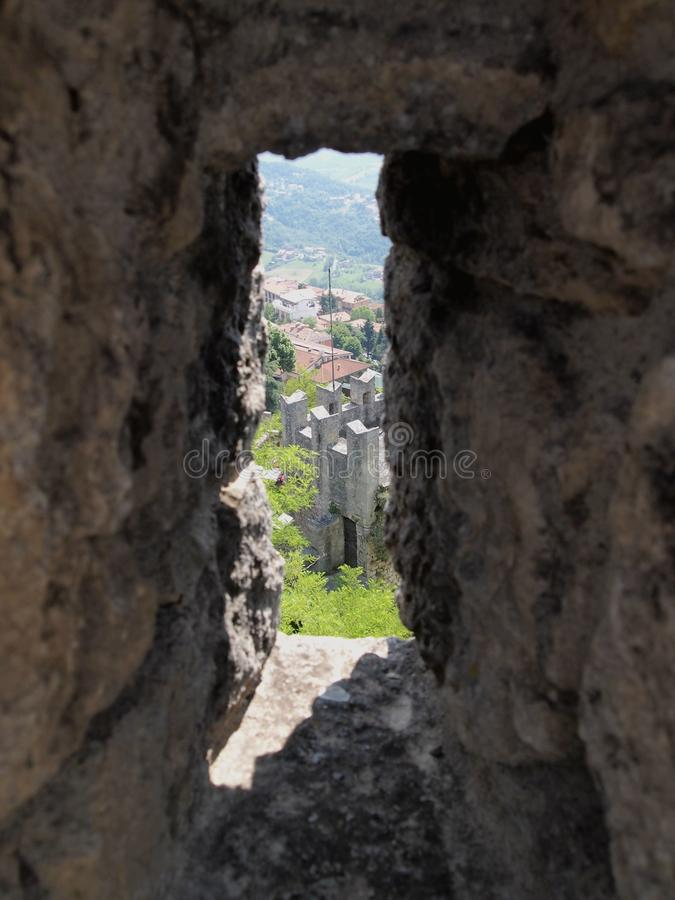 Download San Leo, Italy stock image. Image of fortress, italy - 24448551