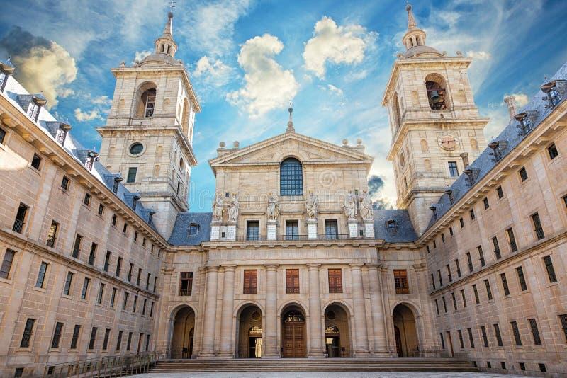 San Lorenzo皇家修道院 库存照片