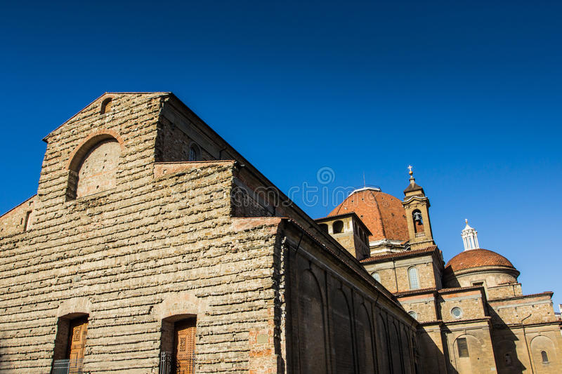 San Lorenzo. View of San Lorenzo in a great afternoon royalty free stock photos