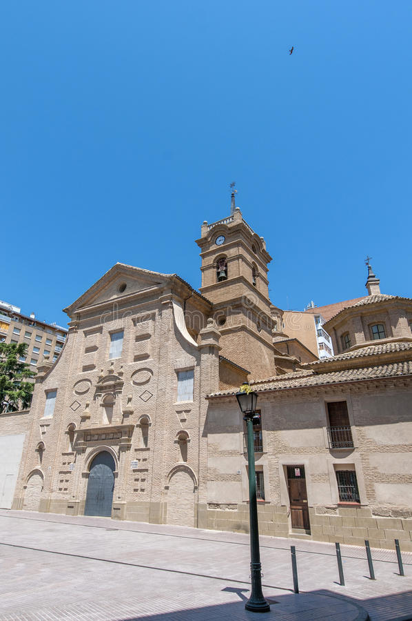 Download San Lorenzo Basilica At Huesca, Spain Stock Image - Image: 24662795
