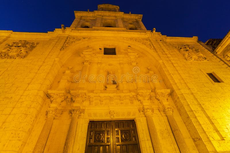San Lorenzo Church en Burgos imagen de archivo