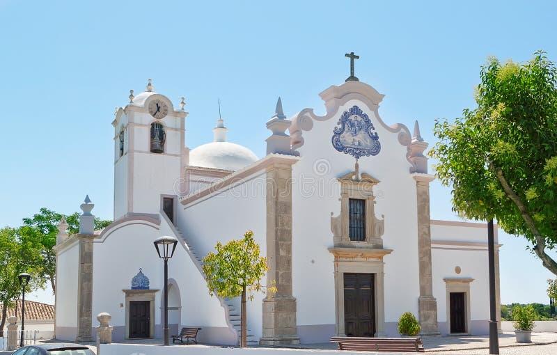 San Lorenzo Church Faro. In Portugal. San Lorenzo Church Faro, Loule. In Portugal royalty free stock photography