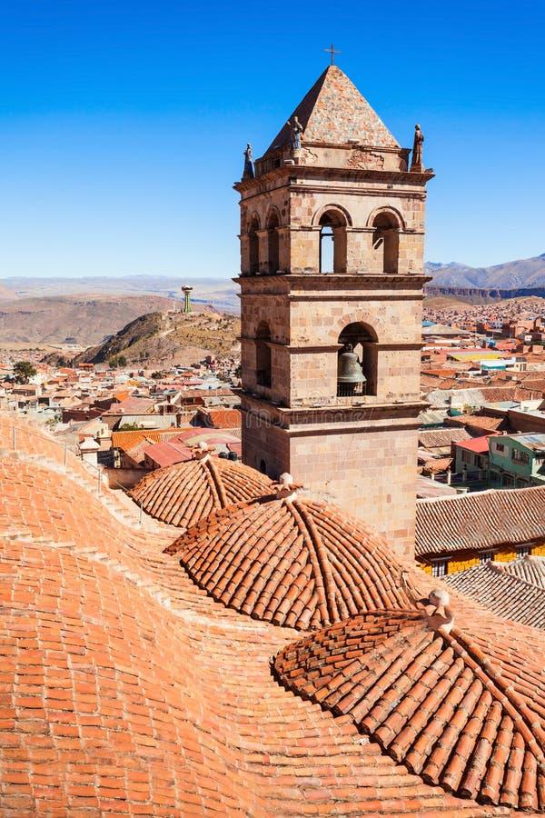 San Lorenzo Church. Is located in Potosi, Bolivia royalty free stock image