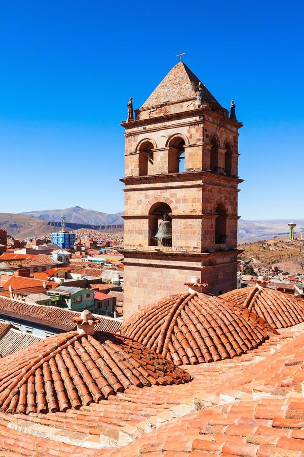 San Lorenzo Church. (Iglesia de San Lorenzo) in Potosi, Bolivia stock images