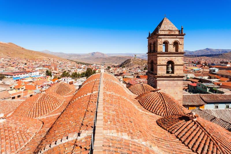 San Lorenzo Church. (Iglesia de San Lorenzo) in Potosi, Bolivia stock photo