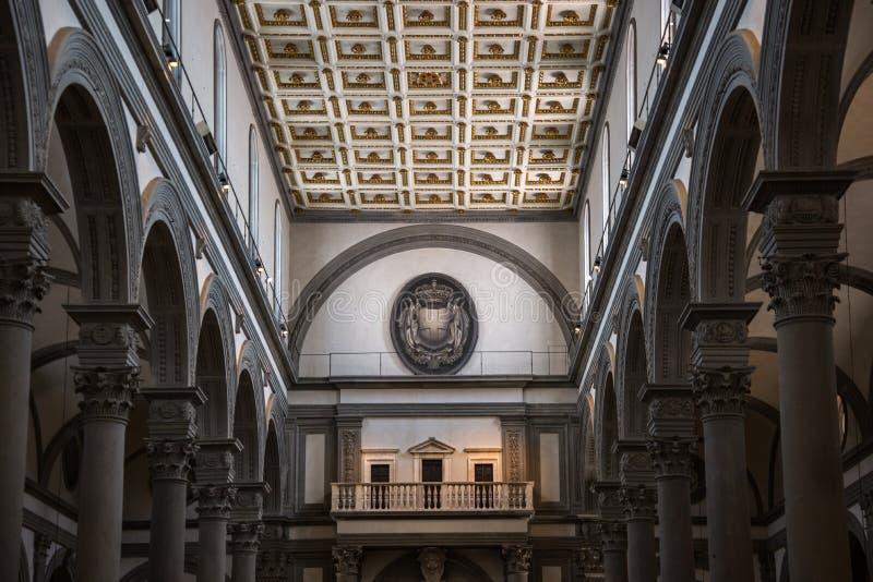 San Lorenzo Cloister royalty-vrije stock foto's