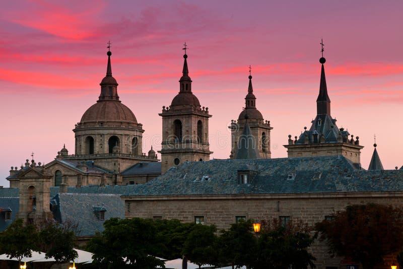 San Lorenzo de El Escorial Monastery , Spain royalty free stock image