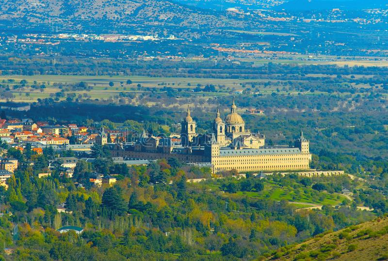 San Lorenzo de El Escorial, Spagna fotografie stock