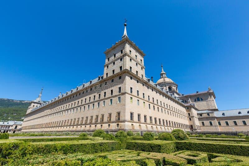 San Lorenzo de El Escorial - Spain - UNESCO. A view of San Lorenzo de El Escorial - Spain - UNESCO stock photography