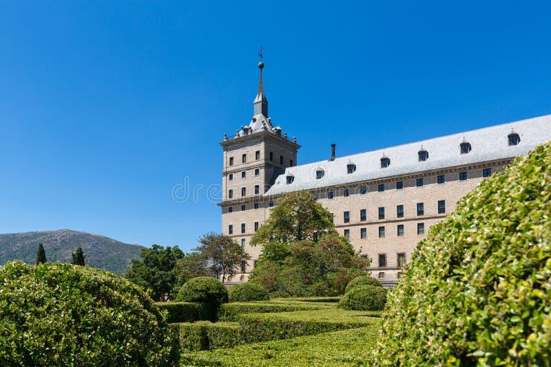 San Lorenzo de El Escorial - Spain - UNESCO. A view of San Lorenzo de El Escorial - Spain - UNESCO royalty free stock photos